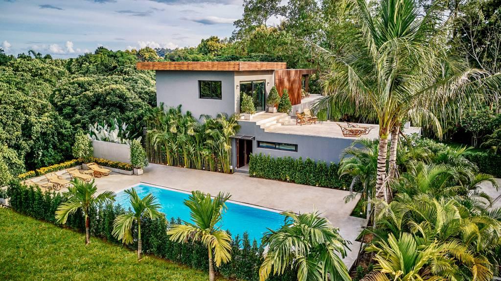 Chiang Mai Private Pool Villa | Drone View Picture